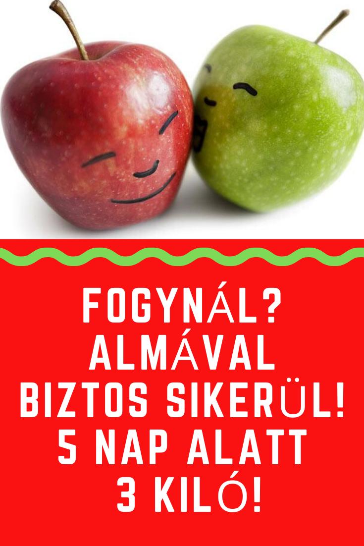 fogyni almával