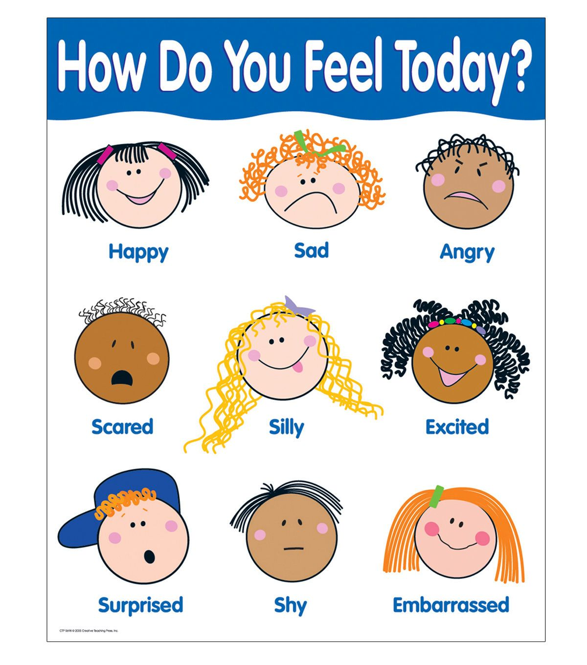 Creative Teaching Press How Do You Feel Today Basic