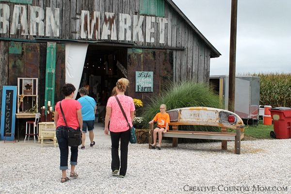 Creative Country Mom\'s Garden: My Trip To Chandelier Barn Market ...
