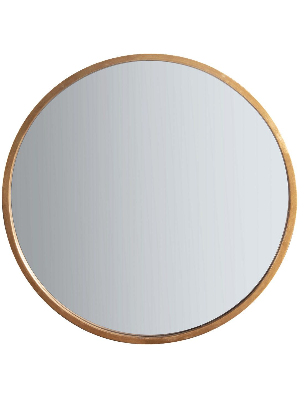 BuyJohn Lewis u0026 Partners Cade Round Mirror, 80cm, Antique Gold Online at  johnlewis.com
