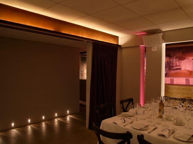 Design ilumina o restaurantes ilumina o for Deckenleuchte ambiente