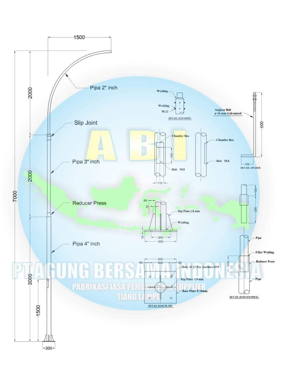 8 Gambar Pilihan Model Tiang Lampu Depan Rumah 2k 2560 X 1440