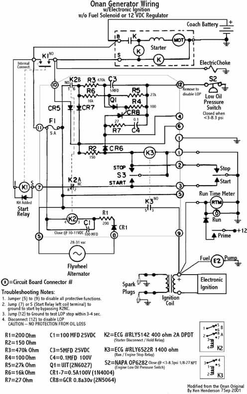 Onan Wiring Diagram | Wiring Diagram on