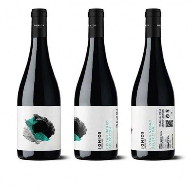 Ignios Listan Negro Seleccion | labels logo | Pinterest | Wine ...