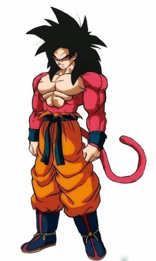 Ssj4 Goku Gt Dragon Ball Super Manga Dragon Ball Art Dragon