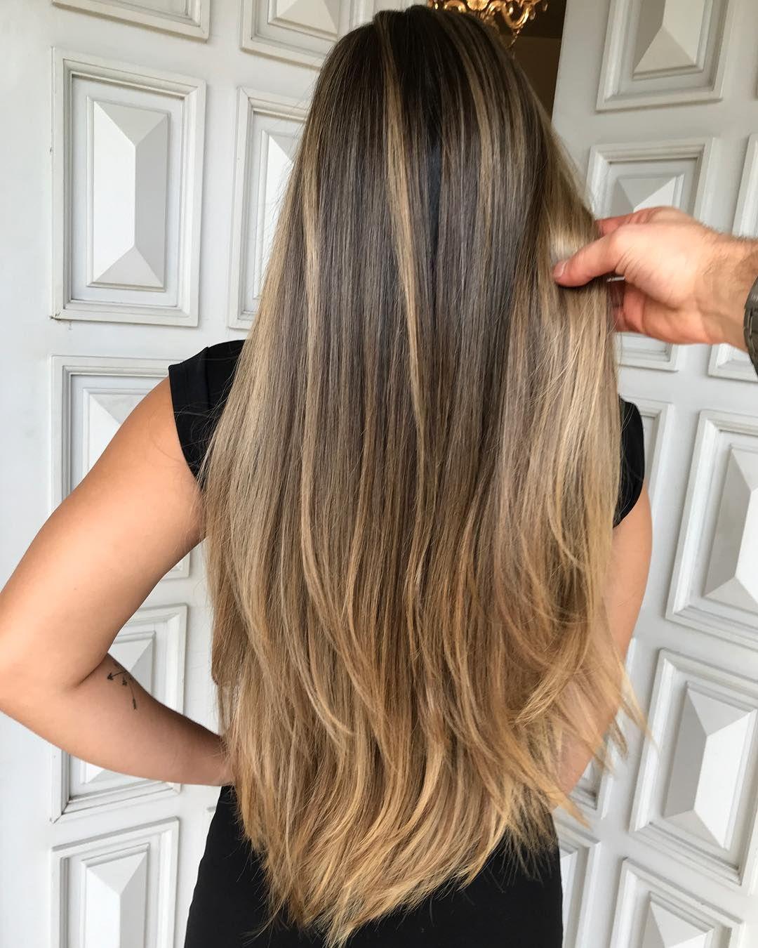 A imagem pode conter: uma ou mais pessoas e close-up   Idéias de cabelo  loiro, Cabelo loiro, Luzes cabelo