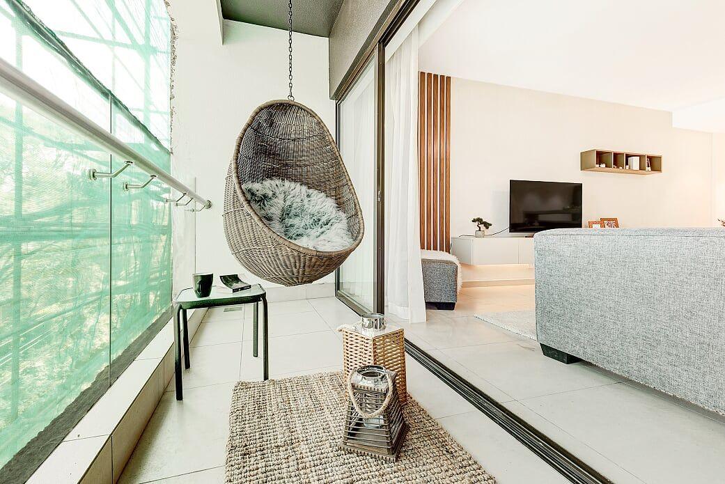 Closed Balcony For Astoria S Show Apartment In Lavington Nairobi
