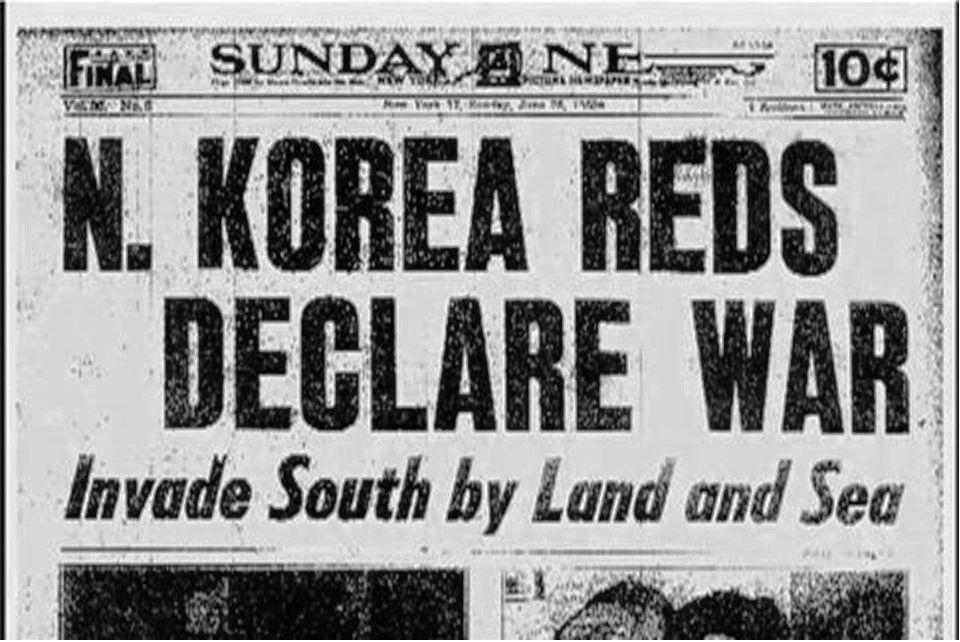 Outbreak Of The Korean War Korean War War Cold War