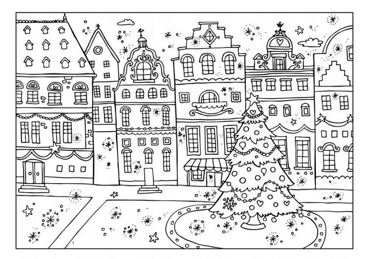 Winter Coloring Pages Activity Village Christmas Coloring Books Christmas Coloring Pages Free Christmas Coloring Pages