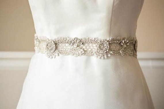 Wedding Sash Belt Zcacia 18 Inches Made To By Enrichbymillie 210 00 Beaded Wedding Dress Belt Hand Beaded Wedding Dress Wedding Sash Belt