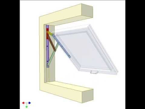 Window Friction Hinge 2 Youtube Mechanisms Pinterest