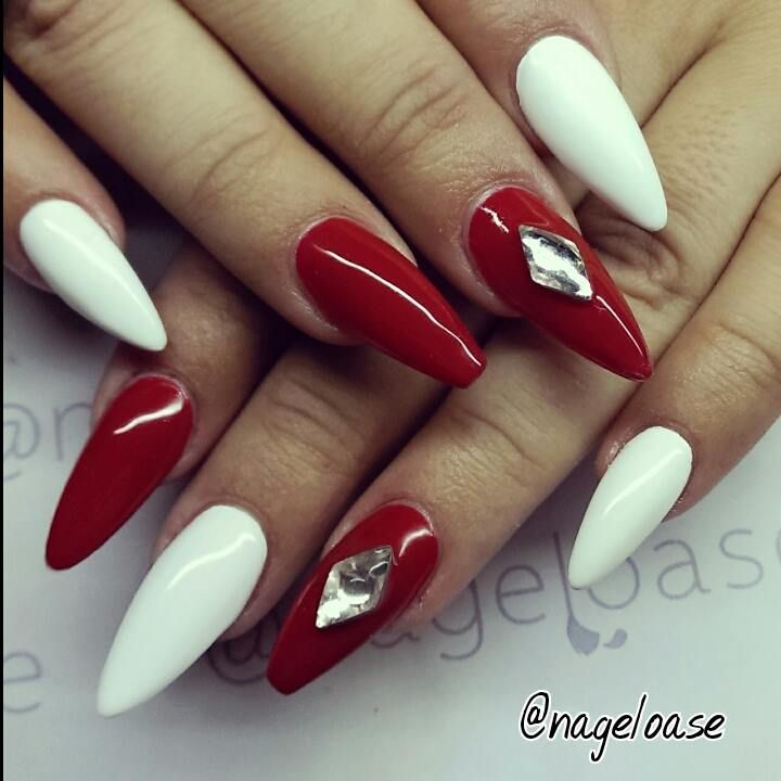 Black And Red Nail Designs Tumblr - http://www.mycutenails ...