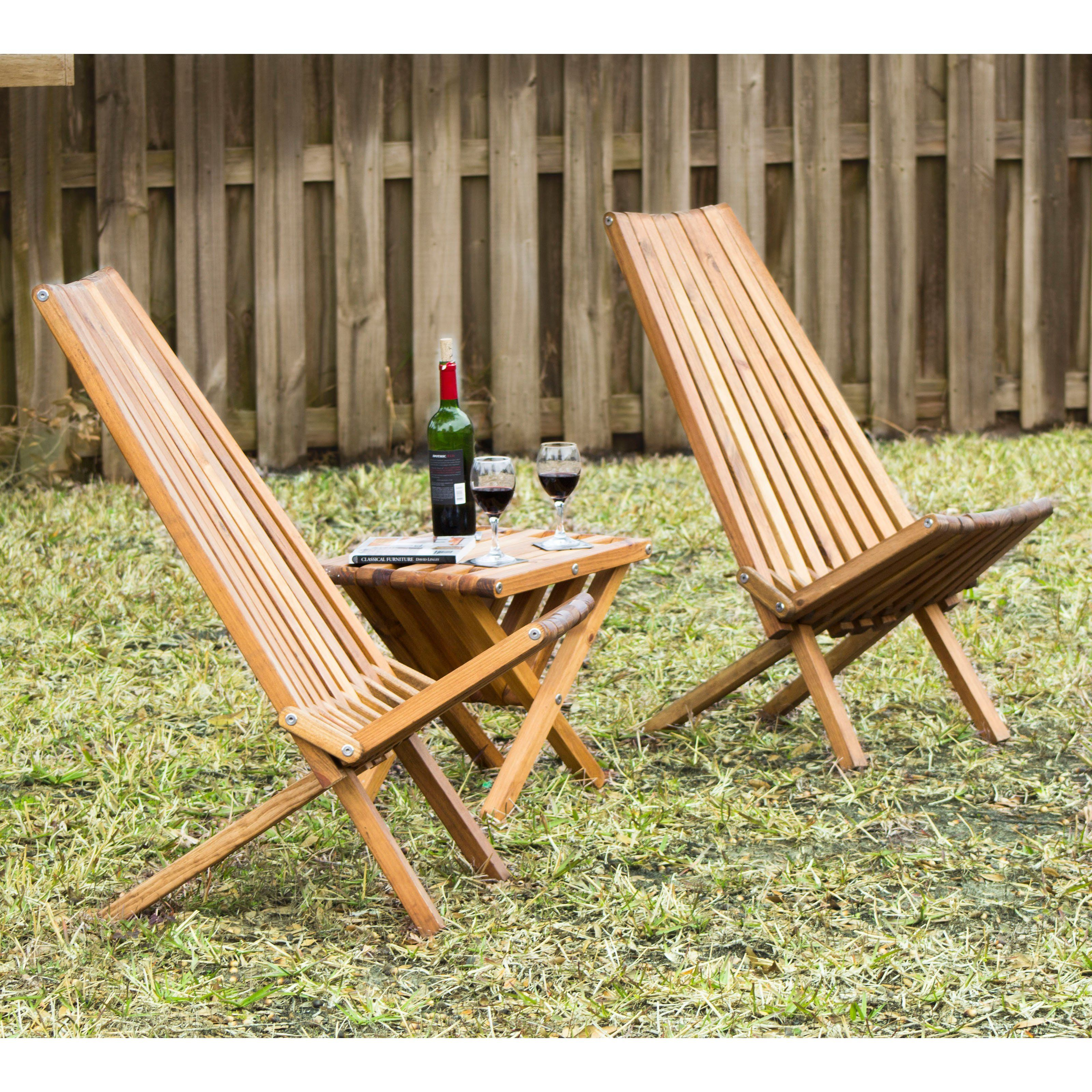 Outdoor Glodea Xquare X45 Foldable Wooden Tall Back Patio Lounge Chair Xqch45ypag Lounge Chair Outdoor Patio Lounge Chairs Patio Lounge