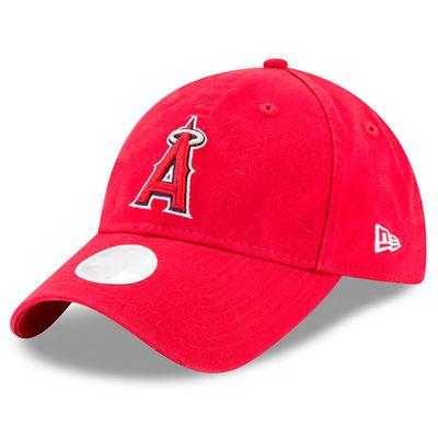 Women s New Era Red Los Angeles Angels Preferred Pick 9TWENTY Adjustable  Hat Ángel a55d3ecf34c