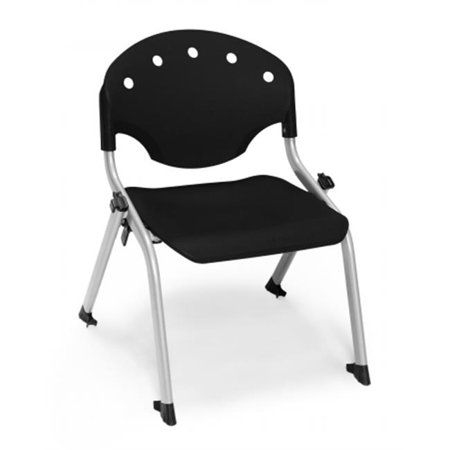 Incredible Ofm 305 12 P0 Rico Student Stack Chair Black Multicolor Cjindustries Chair Design For Home Cjindustriesco