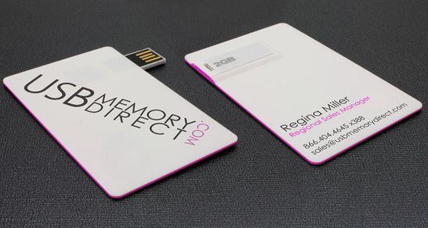 Usb Business Card Flash Drive Usb Business Cards Business Cards Creative Business Card Design