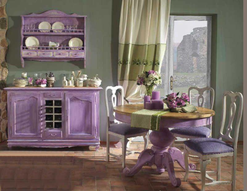 Стиль прованс в интерьере кухни: фото и интересные идеи ...