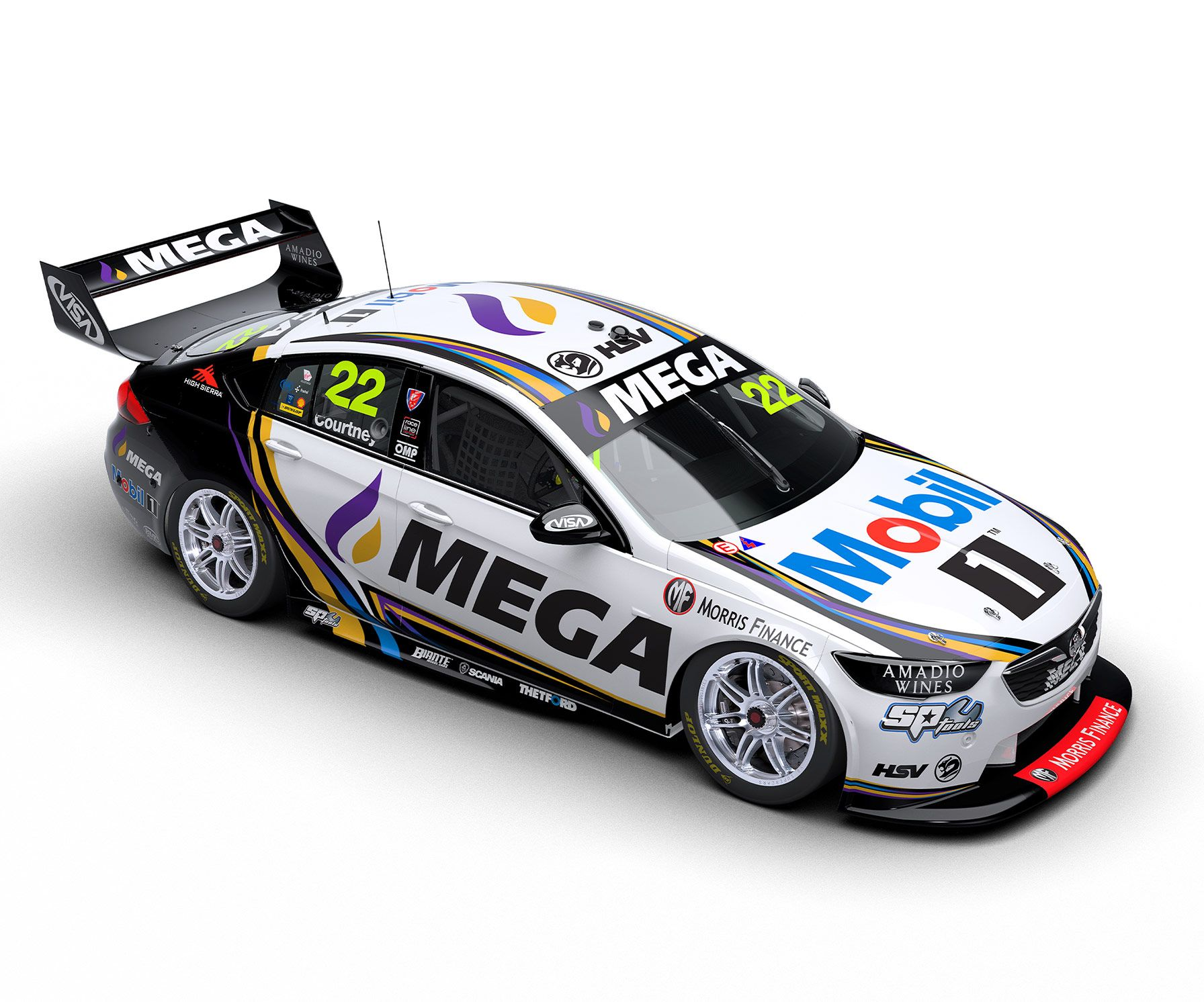 James Courtney With Images Super Cars Rally Car Design Racing