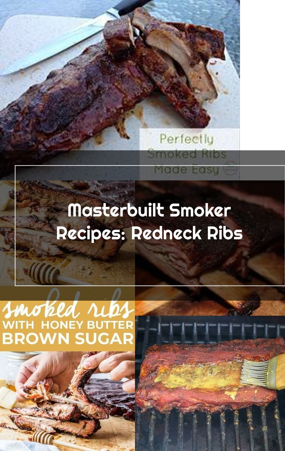 Looking For Masterbuilt Smoker Recipes These Smoked Ribs Are Amazing And So Easy To Make With The Help Of The Masterbuilt E In 2020 Smoker Recipes Smoked Ribs Recipes