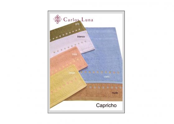 Toalla de algod n bordada modelo capricho comprar por for Complementos decoracion hogar online