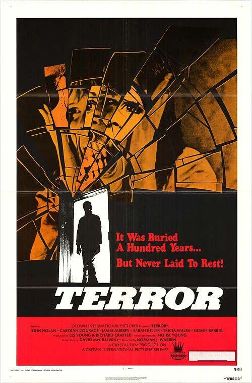 Terror movie poster
