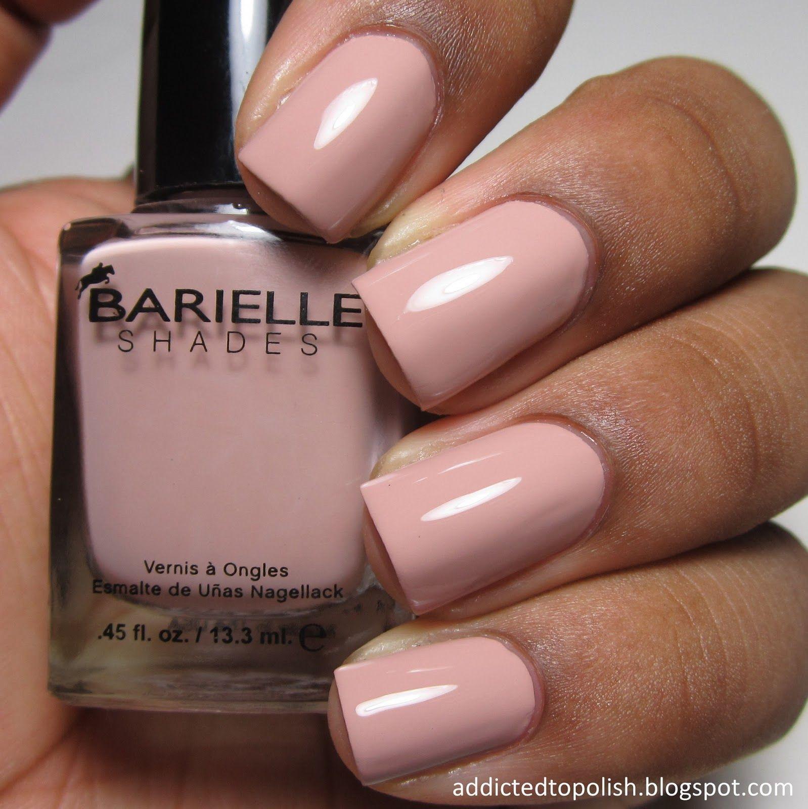 Barielle Kiss Me Kate Nail Polish Natural Nails Nail Polish