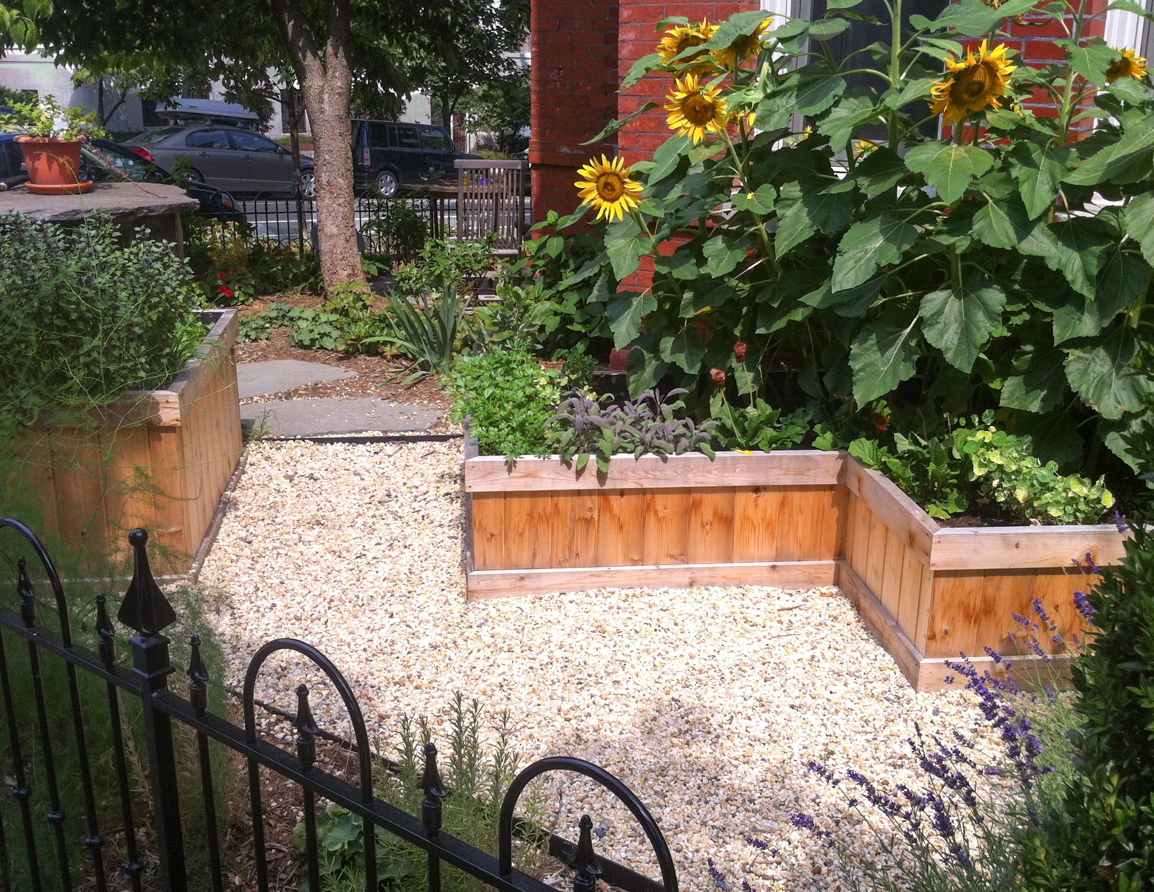 Urban Kitchen Garden Designed By Mary Kirk Menefee Built And
