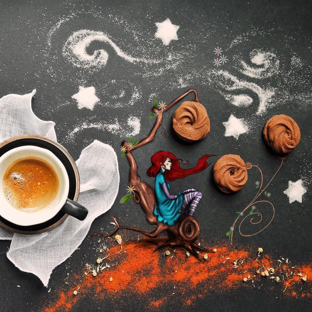 креативные картинки доброго утра любимая