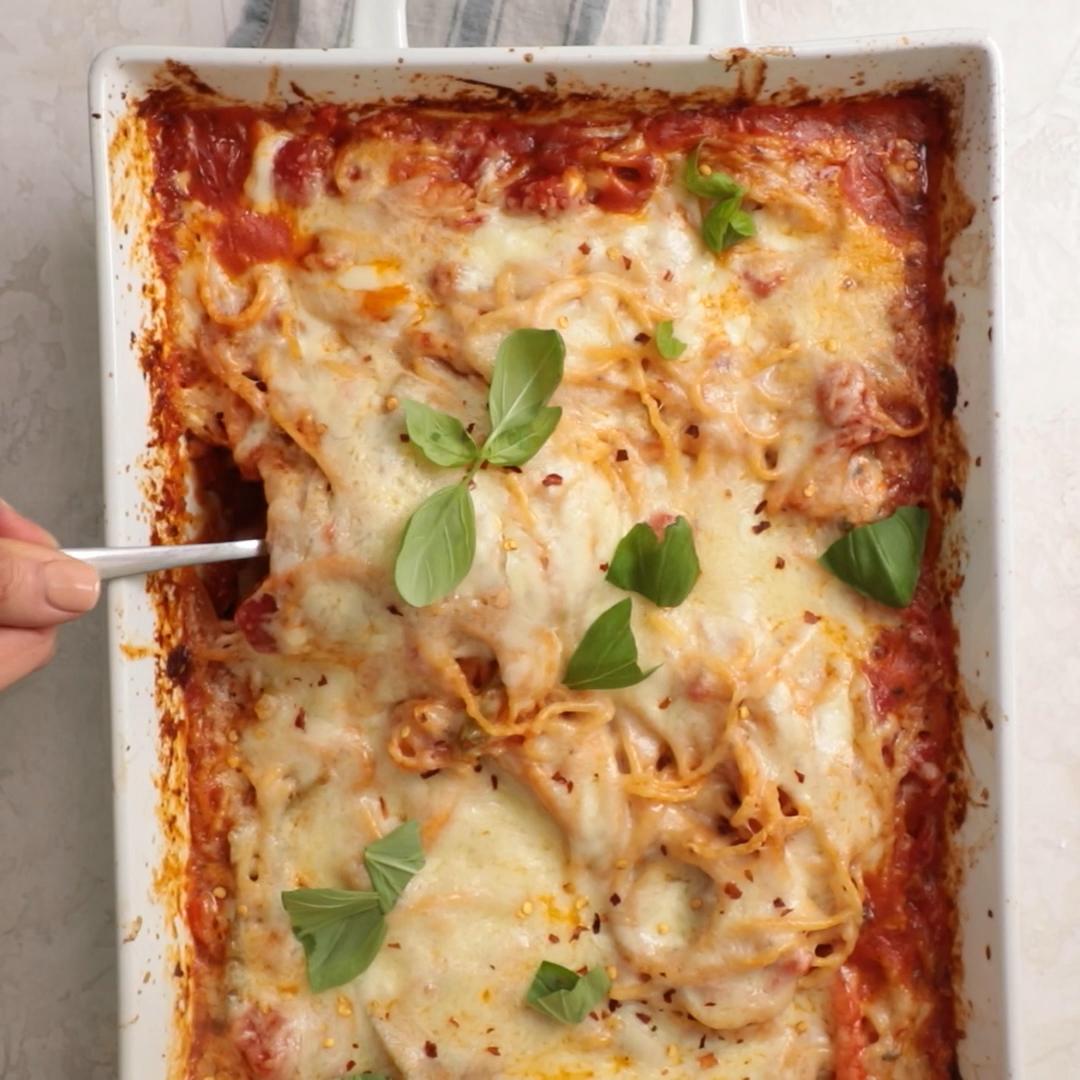 Photo of Easy Baked Spaghetti