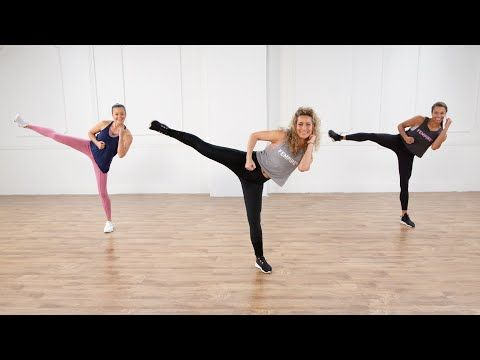 30-Minute No-Equipment Cardio Kickboxing Workout - YouTube