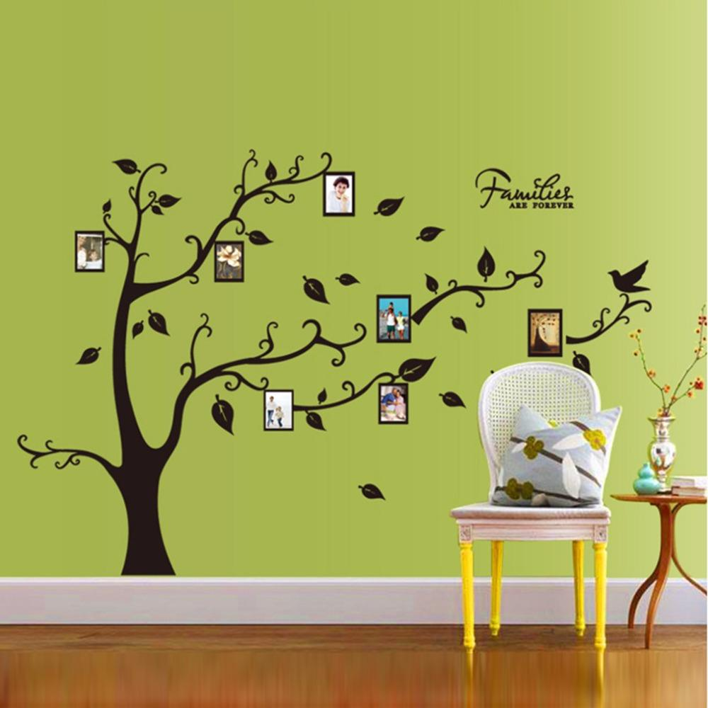 Awesome Family Tree Photo Wall Art Vignette - The Wall Art ...