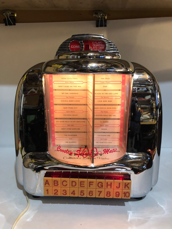 seeburg jukebox model cr select matic ebay