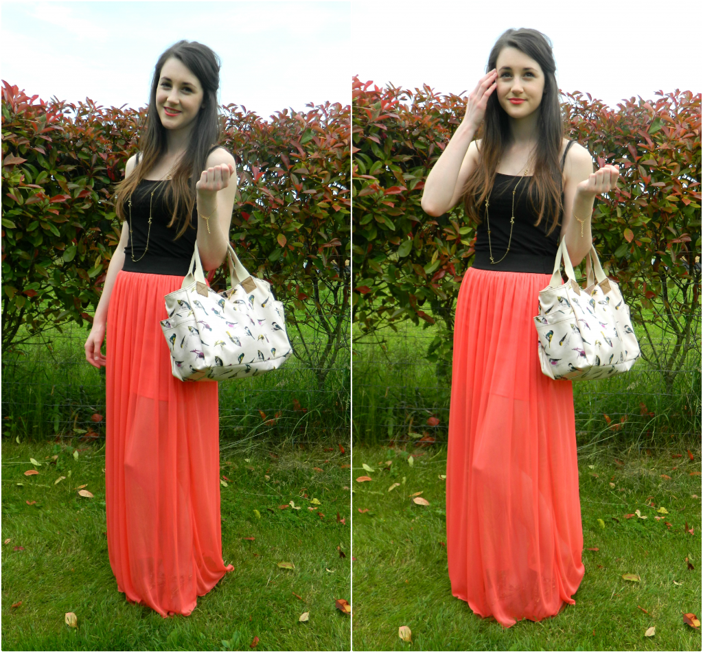 Chiffon-Maxi-Skirt-With-Top- | Awesome Maxi Skirt Outfits Designs ...