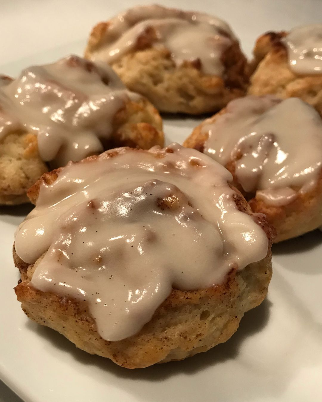 cinnamon rolls 1 c fat free Greek yogurt. 1 c self rising