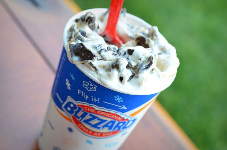 Dairy queens oreo blizzard fast food secret menus
