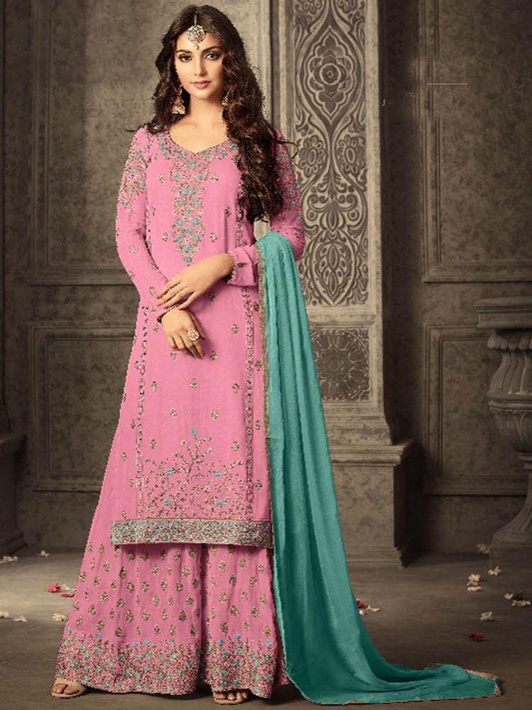 ef8a45d569 #New #Indian #ethnic #embroidery #Party wear #Designer #Salwar #Kameez for  #women #Dress #Indian #SalwarKameez