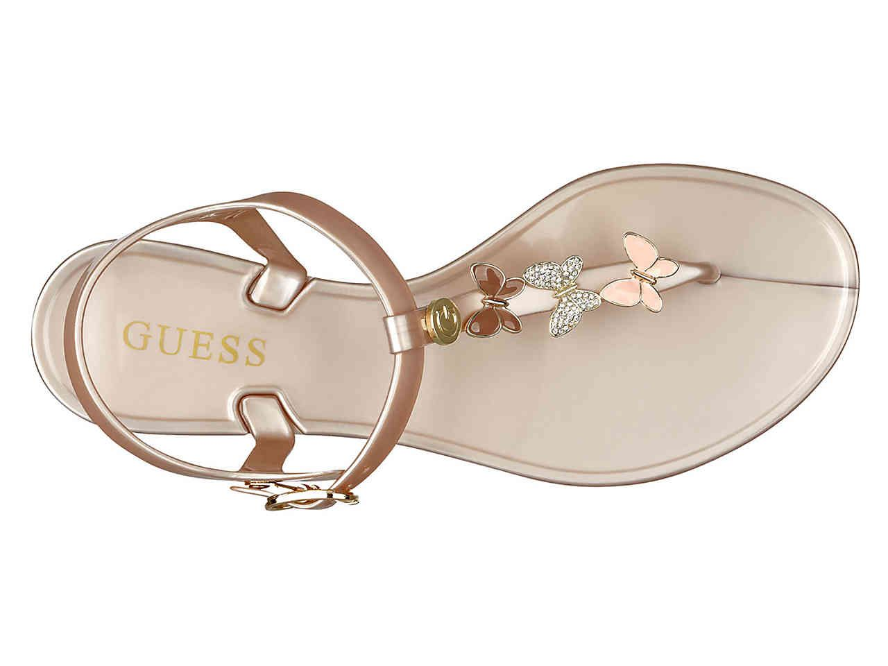 eeb33946d Guess Alaina Jelly Sandal Women s Shoes