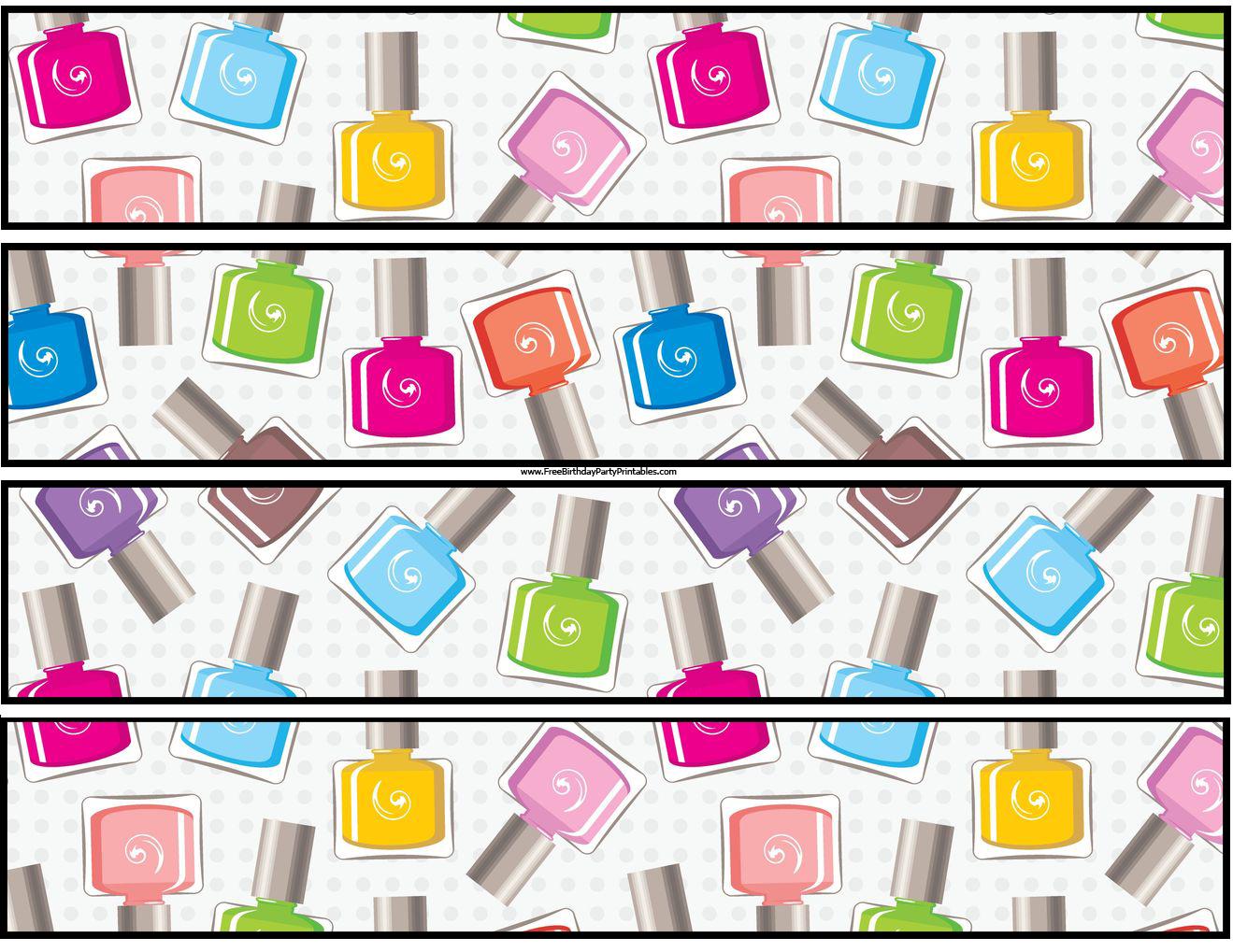 Sugar Coated Nails: SoFlaJo Party Time Nail Polish