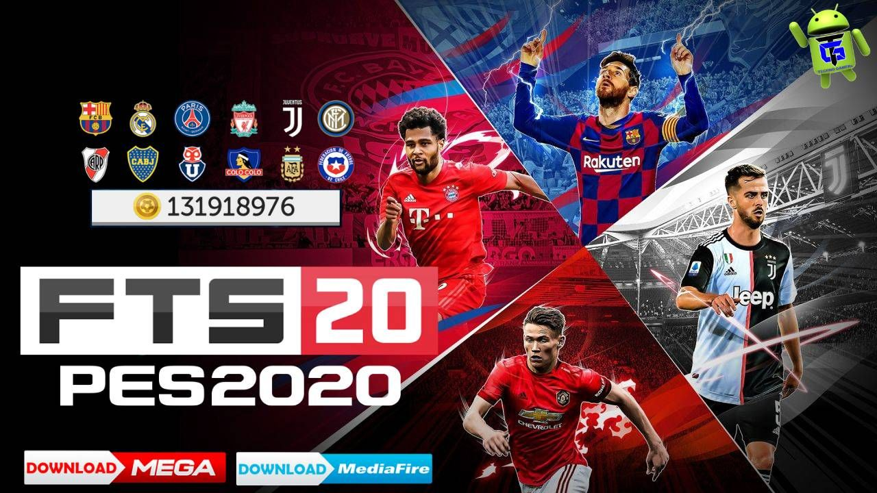 First Touch Score 20 Mod PES 2020 Offline Android Download