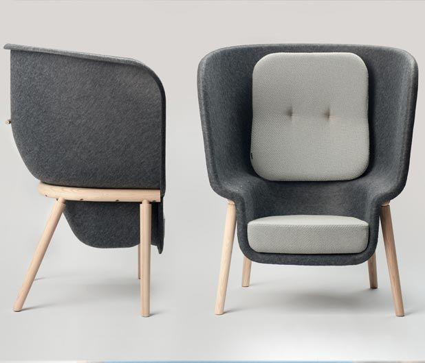 Pod chair Designer Benjamin Hubert - http\/\/wwwbenjaminhubert
