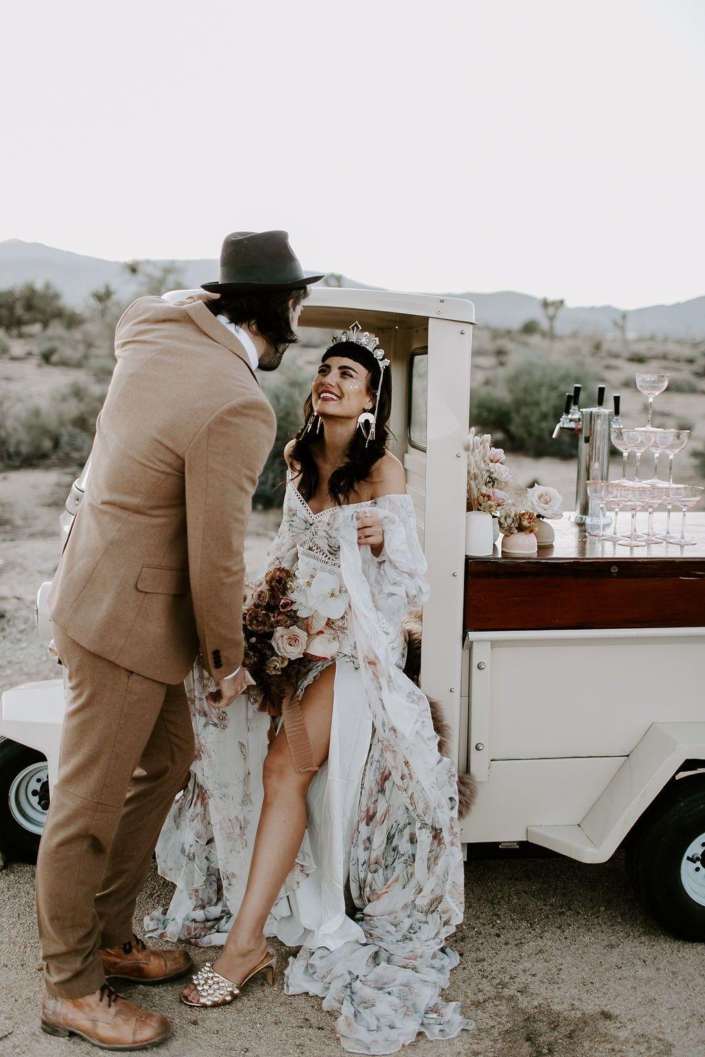 Wild Ones Boho Desert Bridal Inspo Indie Wedding Dress Boho