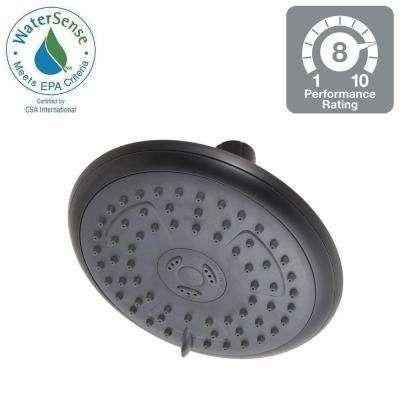 Porter 3 Spray 6 In Showerhead In Spotshield Oil Rubbed Bronze