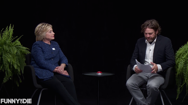 Nonverbal Communication Analysis No. 3701: Hillary Clinton, Between Two Ferns With Zach Galifianakis - Body Language and Emotional Intelligence (VIDEO, PHOTOS)  http://www.bodylanguagesuccess.com/2016/09/nonverbal-communication-analysis-no_23.html