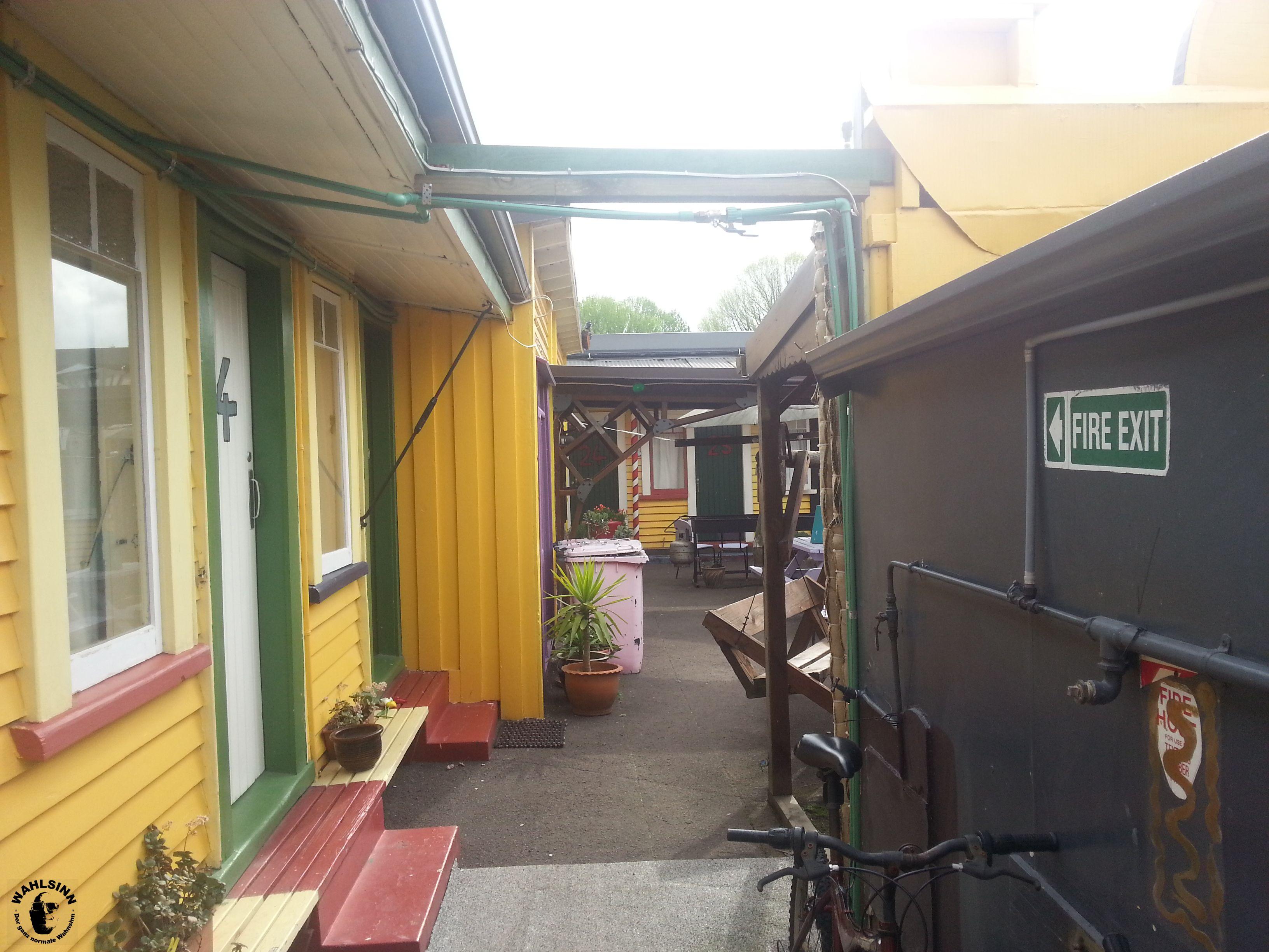 Ein Gang im Cactus Jack (Rotorua / Neuseeland)