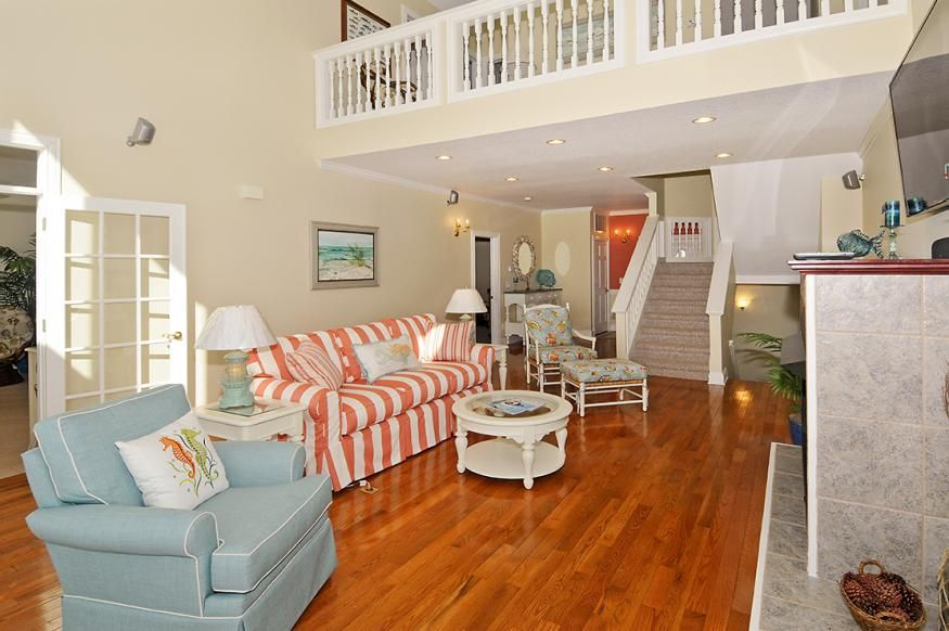 PAMLICO SUNSETS - 5 bedrooms, 4.1 baths on the sound front in Avon