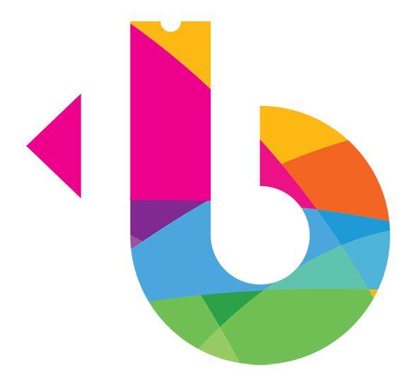 Icon logo ticketbis letra b con muchos colores logos for Logos con letras