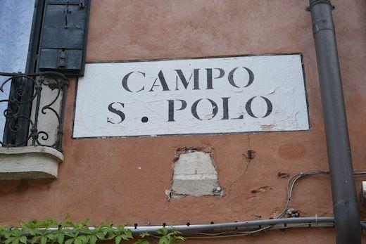 Campo S Polo -- Venice