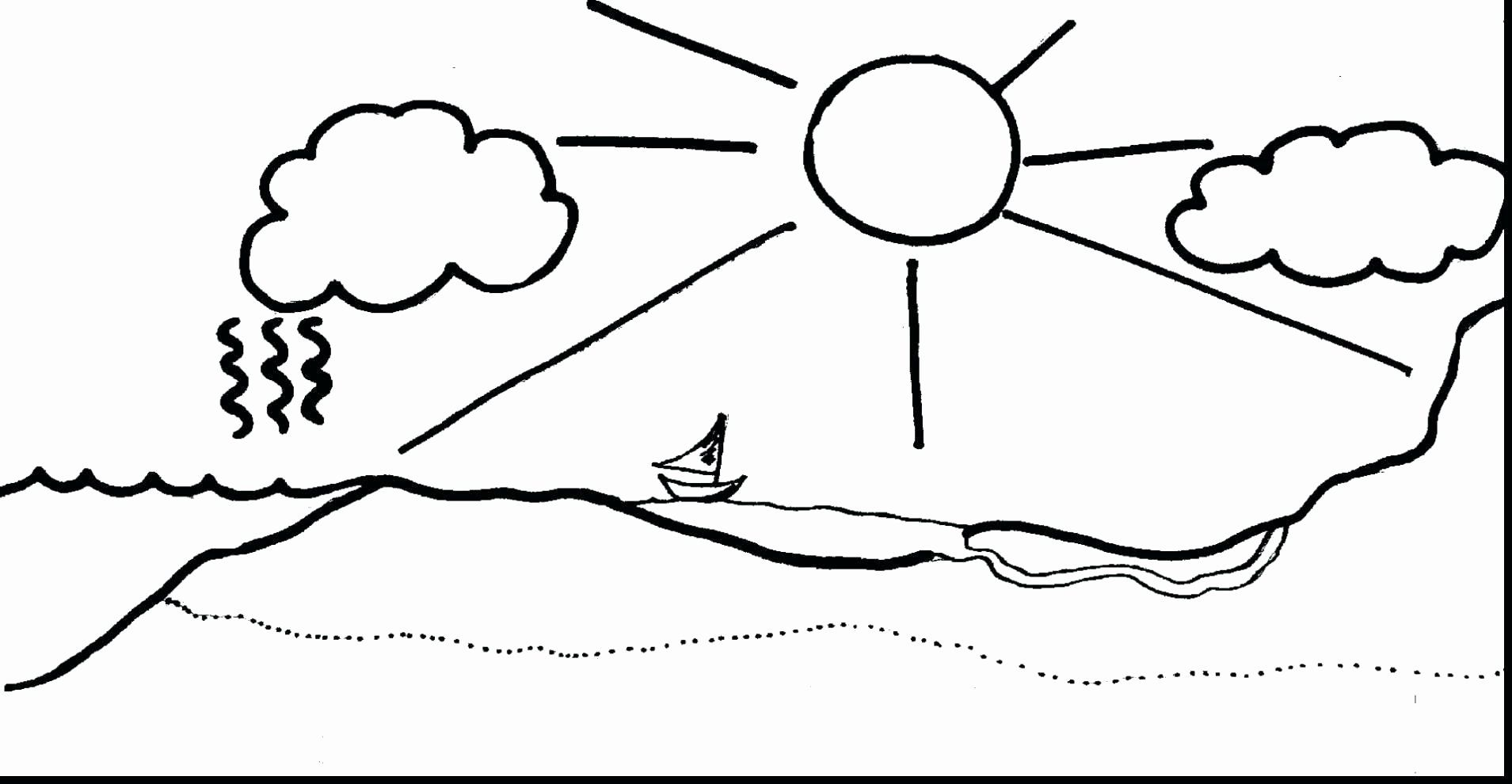 Water Conservation Coloring Pages Elegant Water Cycle