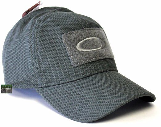 fab65c357ba Oakley Men s SI MK 2 Mod 1 Standard Issue Tactical Fitted Hat Cap - Shadow  (S M)