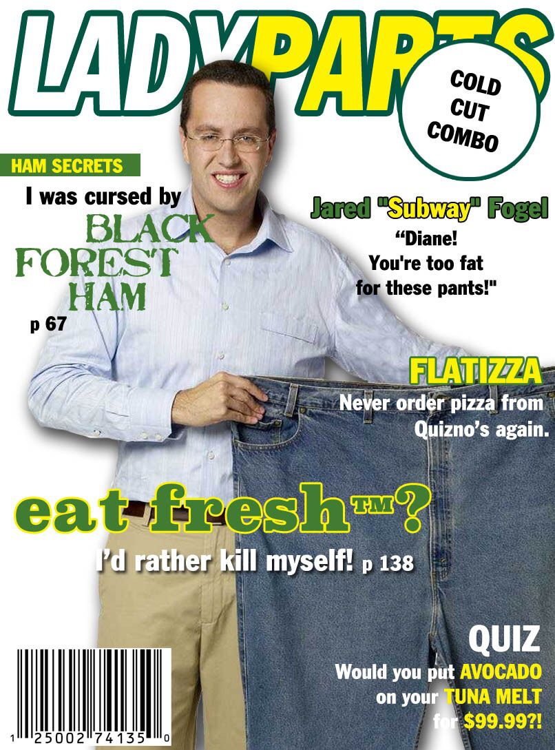 "JARED ""SUBWAY"" FOGEL ISSUE"